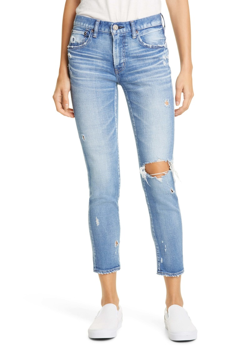 MOUSSY Vintage Helendale Ripped Skinny Jeans