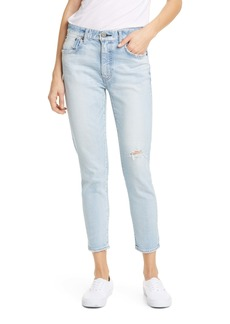 MOUSSY Vintage Hillrose Ripped Crop Skinny Jeans