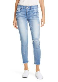 MOUSSY Vintage Lenwood High Waist Ankle Skinny Jeans