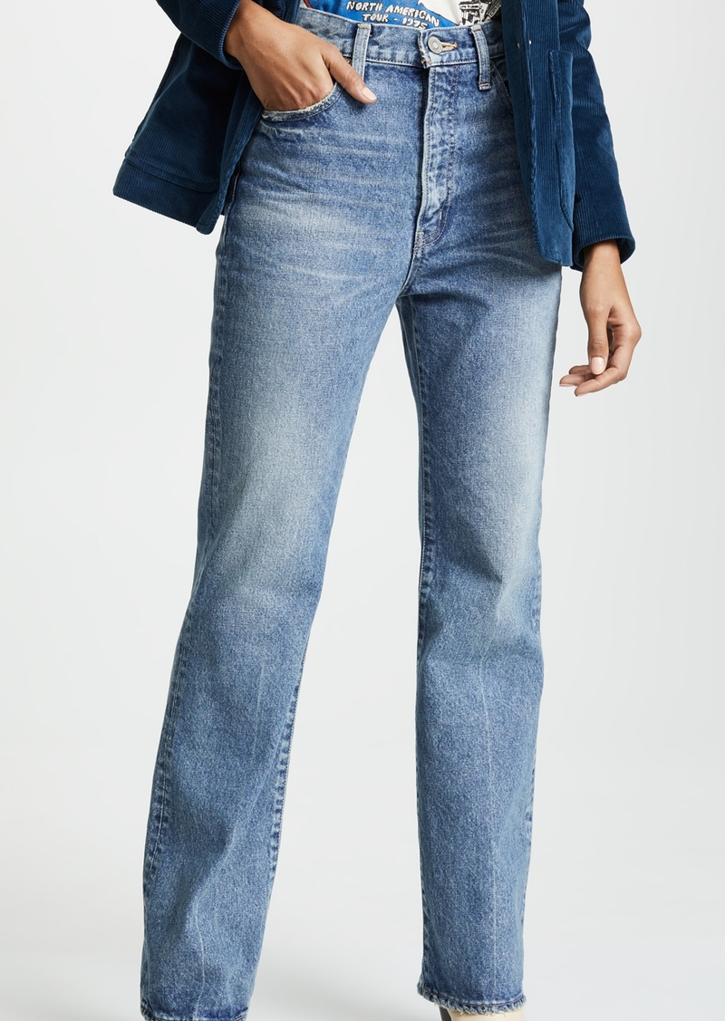 select for official footwear meticulous dyeing processes VINTAGE MV Luna Straight Flare Jeans