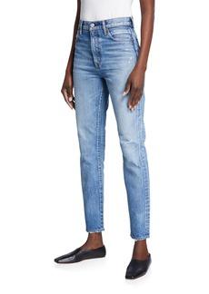 Moussy Orlando Slim Straight-Leg Jeans