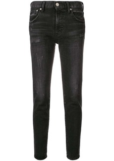 Moussy tapered jeans