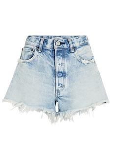 Moussy Tribby Cut-Off Denim Shorts