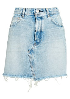 Moussy Wellington Denim Mini Skirt
