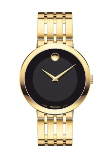 Movado 39mm Esperanza Watch  Gold