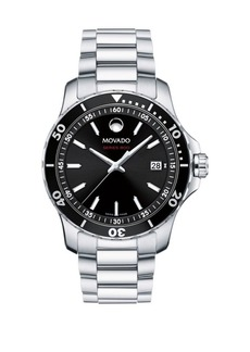 Movado 800 Series Stainless Steel and Aluminum Bracelet Watch