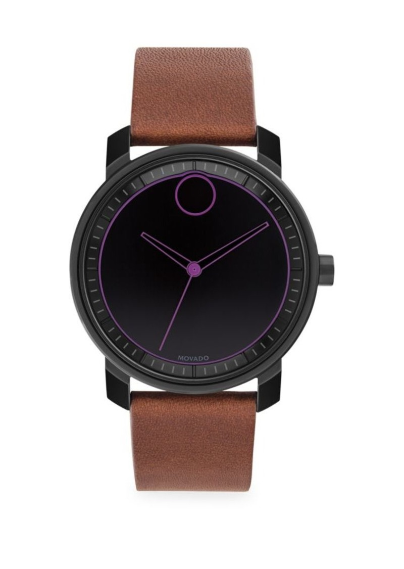 Movado Bold Black Watch