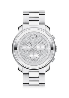 Movado BOLD Chronograph Stainless Steel Watch
