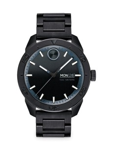 Bold Sport Black Stainless Steel Analog Watch