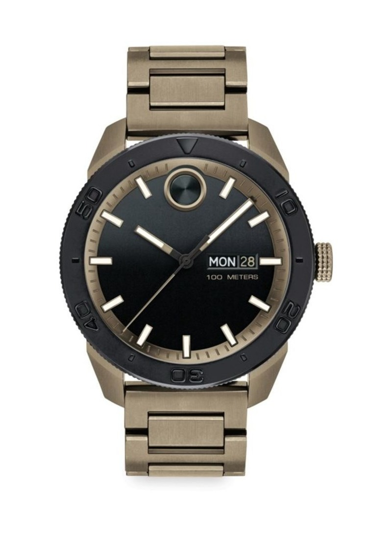 Movado BOLD Sport Stainless Steel Watch