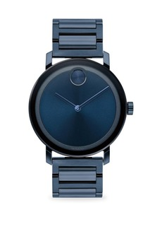 Movado Bold Stainless Steel Analog Bracelet Watch