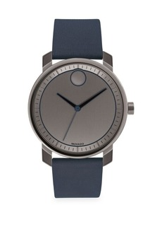Movado Bold Stainless Steel Strap Watch