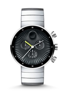 Movado Edge Chronograph Stainless Steel Bracelet Watch