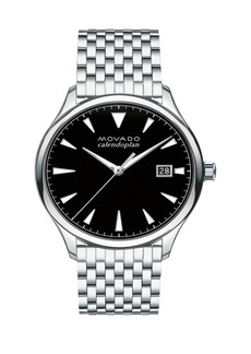 Movado Heritage Stainless Steel Bracelet Watch