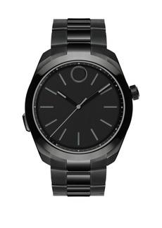 Movado Ionic Plated Steel Bracelet Watch