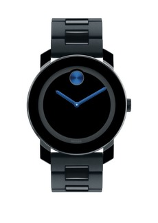 Movado Large Bold Watch/Blue