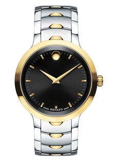 Movado Luno Stainless Steel Analog Bracelet Watch