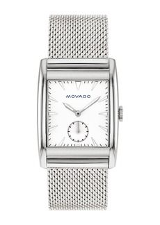 Movado Men's Heritage Swiss Quartz Mesh Watch, 30mm