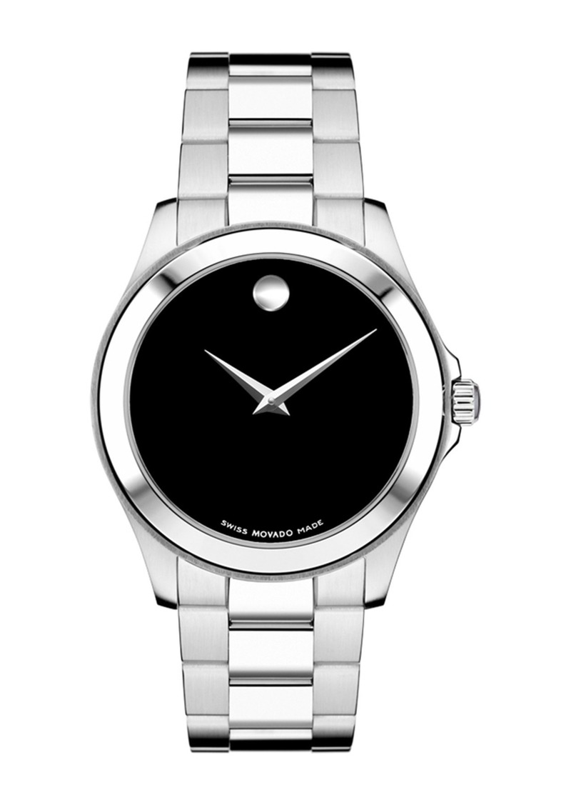 Movado Men's Junior Swiss Quartz Bracelet Watch, 38.5mm