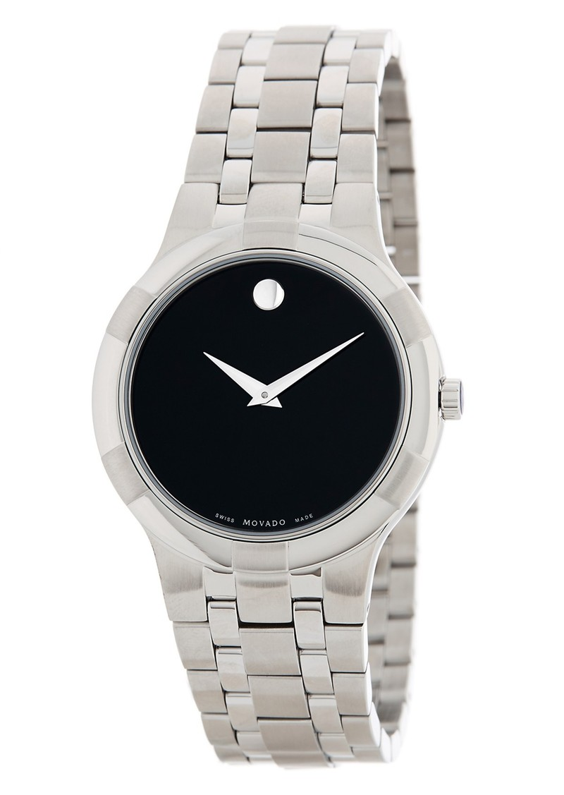 Movado Men's Metio Swiss Quartz Bracelet Watch, 38mm