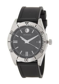 Men's Movado Sport Series Rubber Watch, 41mm