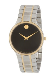 Movado Men's Serio Bracelet Watch, 38mm