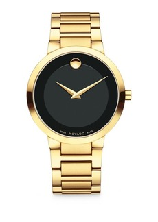Movado Modern Classic Yellow Gold Bracelet Watch