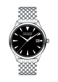 Movado 40mm Heritage Series Calendoplan Watch