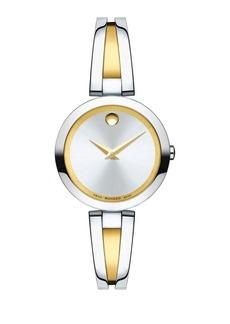 Movado Aleena Stainless Steel Analog Bracelet Watch