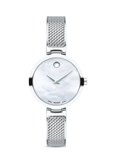 Movado Amika Bangle Watch, 27mm