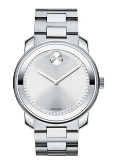 Movado 42.5 Stainless Steel Watch