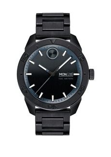 Movado Bold Bold Sport Black Stainless Steel Analog Watch