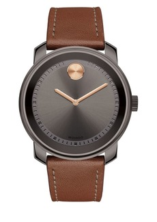 Movado BOLD Steel Strap Watch