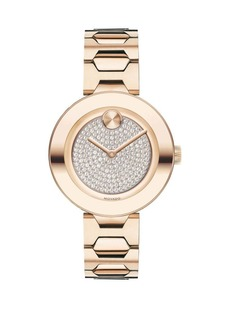 Movado Bold Bold T-Bar Stainless Steel Bracelet Watch
