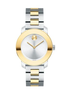 Movado Bold BOLD Two-Tone Stainless Steel Bracelet Watch
