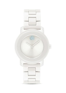 Movado BOLD Ceramic Watch, 30mm