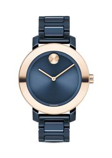 Movado BOLD Evolution Ceramic Bracelet Watch, 36mm