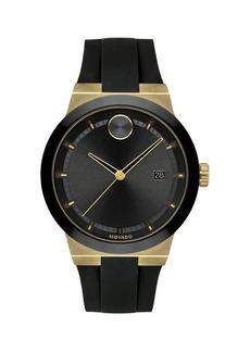 Movado Bold Fusion Black & Goldtone Watch