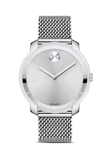 Movado BOLD Mid Size Silver Tone Watch, 36mm