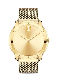 Movado BOLD Museum Dial Watch with Mesh Link Bracelet, 44mm