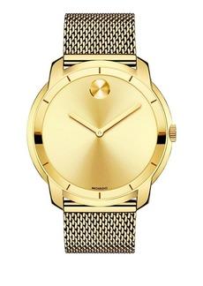 Movado Bold Stainless Steel Multilink Bracelet Watch