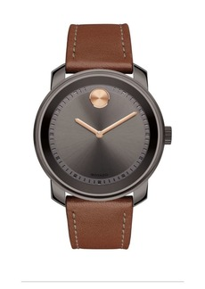 Movado Bold Steel Strap Watch