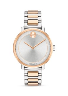 Movado BOLD Two Tone Watch, 34mm