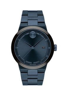 Movado Bolt Stainless Steel Bracelet Watch