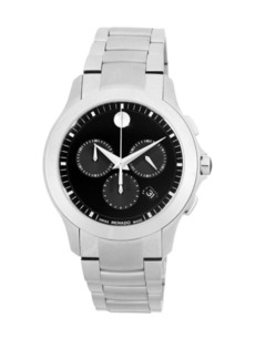 Movado Chronograph Stainless Steel Bracelet