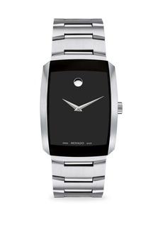 Movado Eliro Rectangular Stainless Steel Bracelet Watch