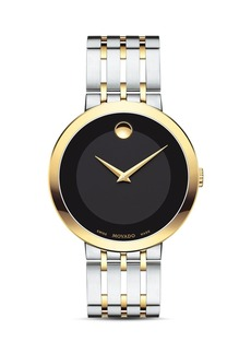 Movado Esperanza Two Tone Watch, 39mm