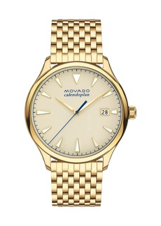 Gold-Plated Heritage Calendoplan Watch