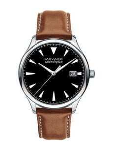 Movado Heritage Series Stainless Steel Calendoplan Watch