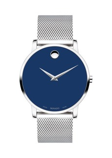 Movado Men's Museum Classic Mesh Bracelet Watch